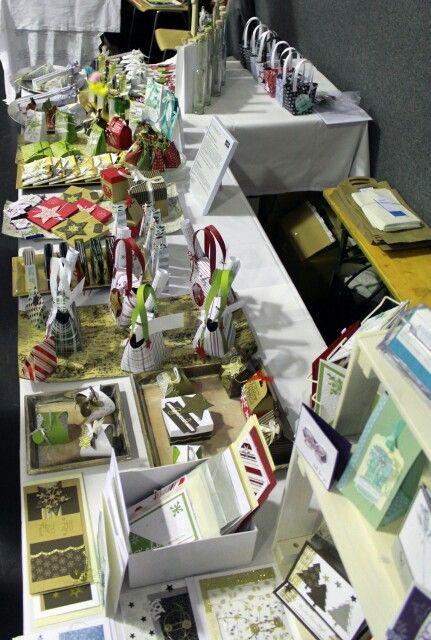 Weihnachtskarten Adventmarkt Aigenmade.com Stampin'UP