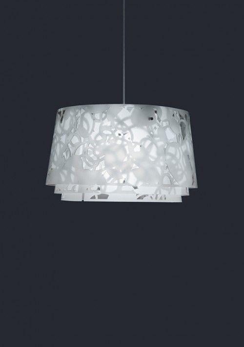 Lampe: Collage Pendel Designer: Louise Cambell Leverandør: Louis Poulson  År:
