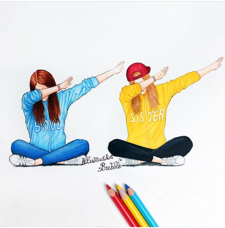 Dab with your friends (Best Friend Wallpaper)