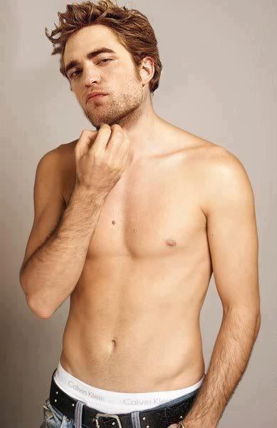 Robert Pattinson Shirtless | Pictures | POPSUGAR Celebrity