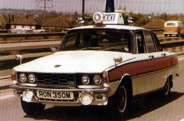 Police cars : Rover/Land Rover | AROnline