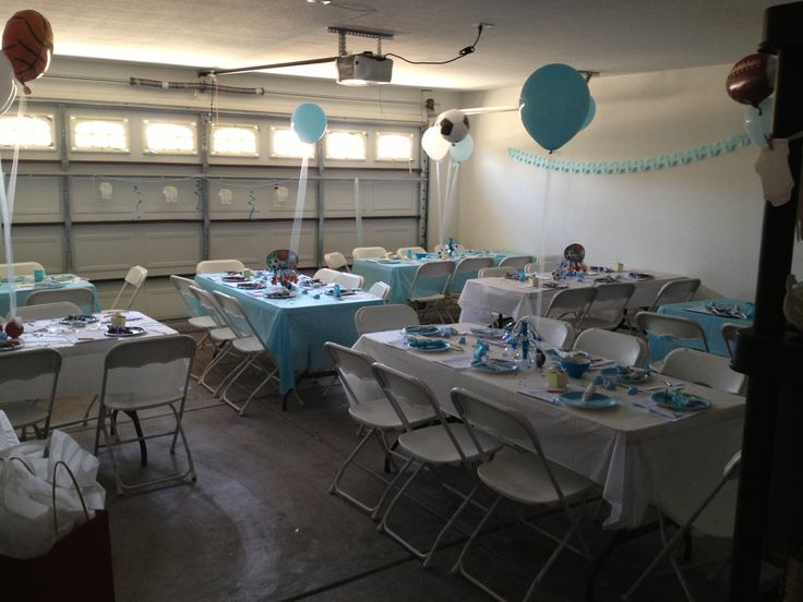 Sports Baby Shower Sports Baby Shower In 2019 Garage