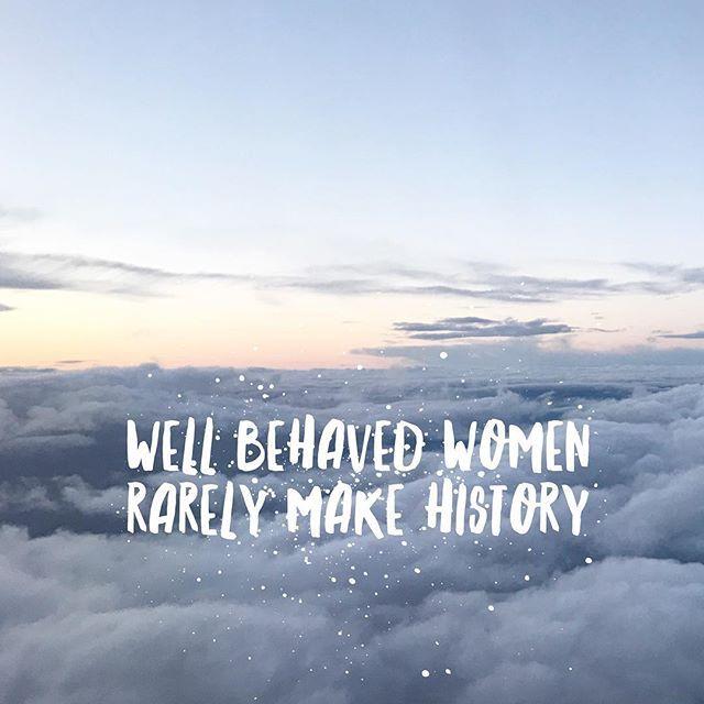Ladies Monday is yours. In the words of Laurel Thatcher Ulrich 'well behaved women rarely make history.'    #ZealandHeart #littlestoriesofmylife #inspiremyinstagram #photosinbetween #travelerinlondon #iamatraveler #girlsvsglobe #travelgirls #womenwhotravel #sheisnotlost #girlsthatwander #persuepretty #walltraveled #myperspective #howihue #happyselves #whenpeoplematchplaces #realoutfitgram #luxury #treatyoself #luxurylife #sass #mondaymotivation #inspirations