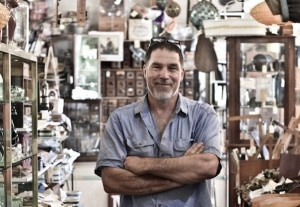 Ross from Heath's Old Wares, Bangalow NSW