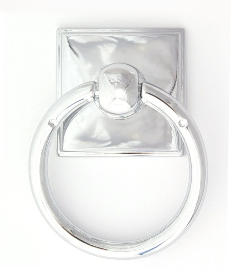 """Eclectic 2.38"""" Ring Pull Finish: Polished Chrome - Towel Rings - Amazon.com"""
