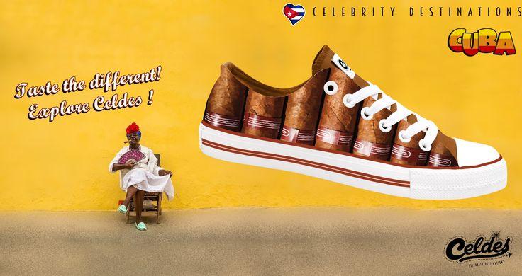 Taste the different...  Choose Celdes shoes!  Be different here: http://celdes.com/en/all/778-havana-cigars-cuba.html #exploreceldes #exploretheworld #cuba
