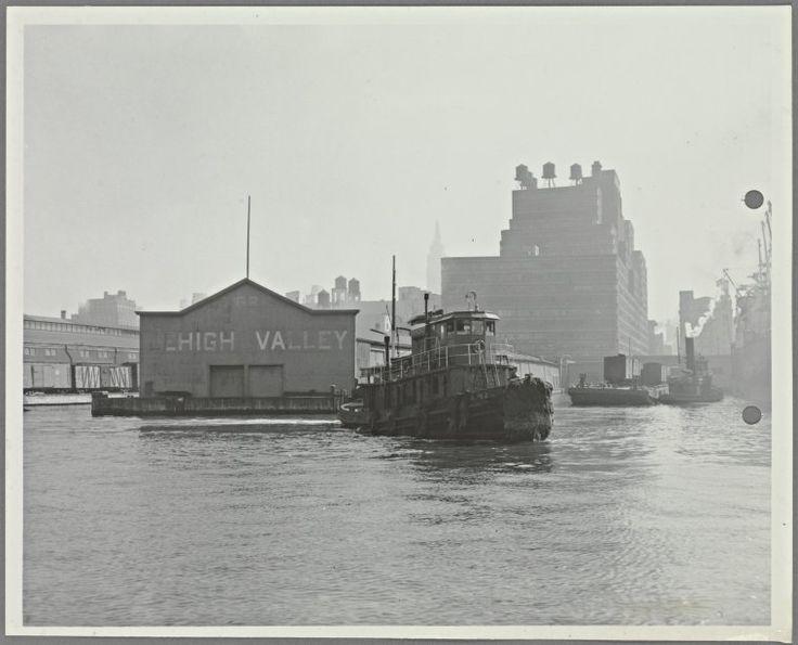 Lehigh Valley Railroad Company at Pier 66, North River