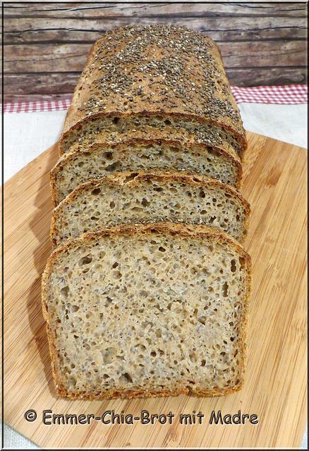 Emmer-Chia-Brot mit Madre