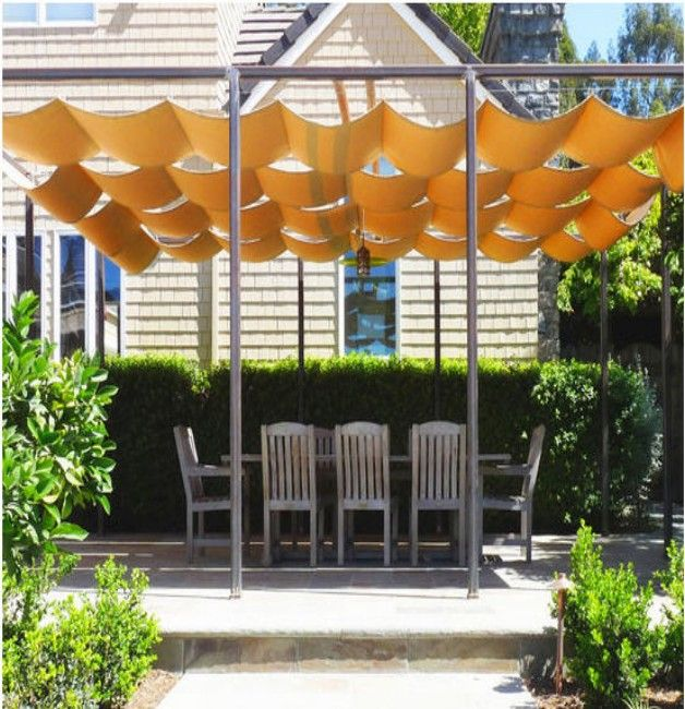 Retractable Awnings  Canopies for Pergola  Pergola