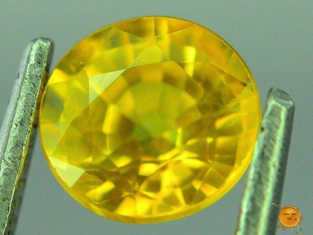 1.075 ct Natural Yellow Sapphire ~ Sri Lanka