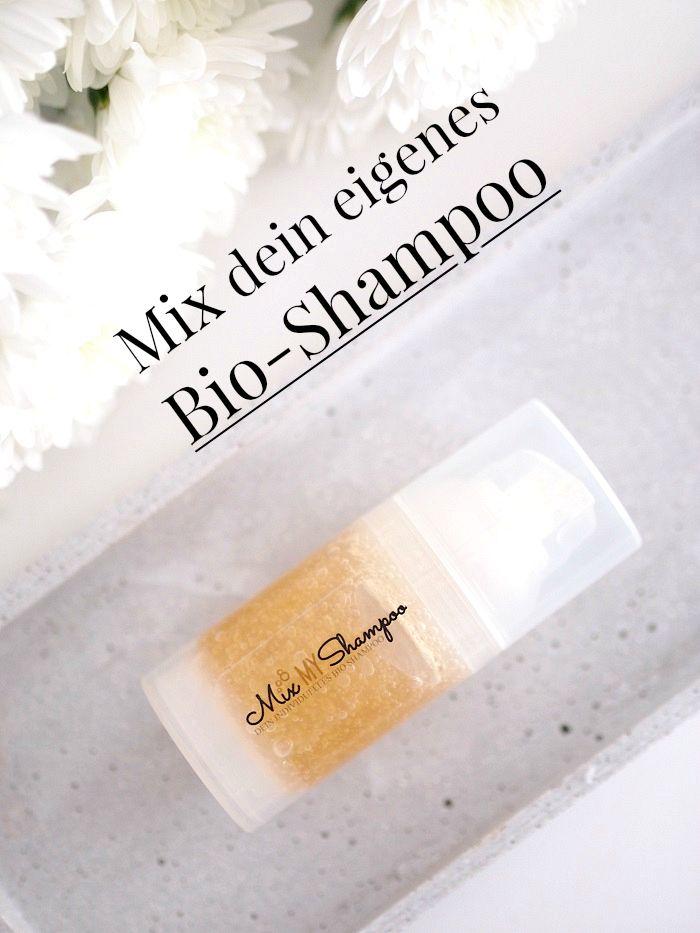 eigenes Bio shampoo mixen