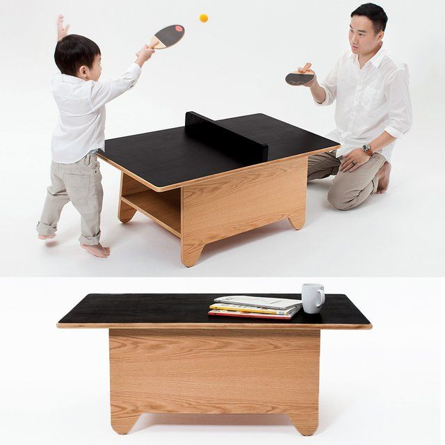 Fancy | Ping Pong Coffee Table by Huzi Design