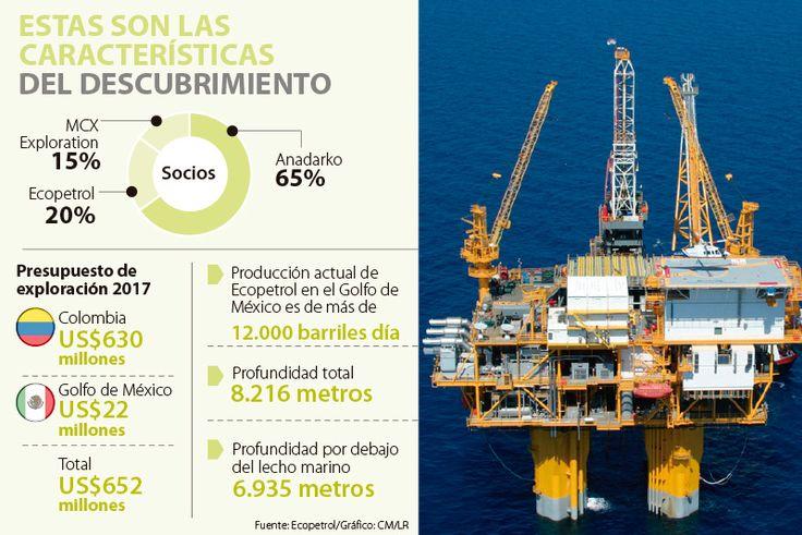 Nuevo hallazgo de Ecopetrol en Golfo de México, el quinto en Estados Unidos