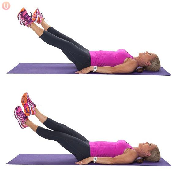 Criss Cross Ab Exercise