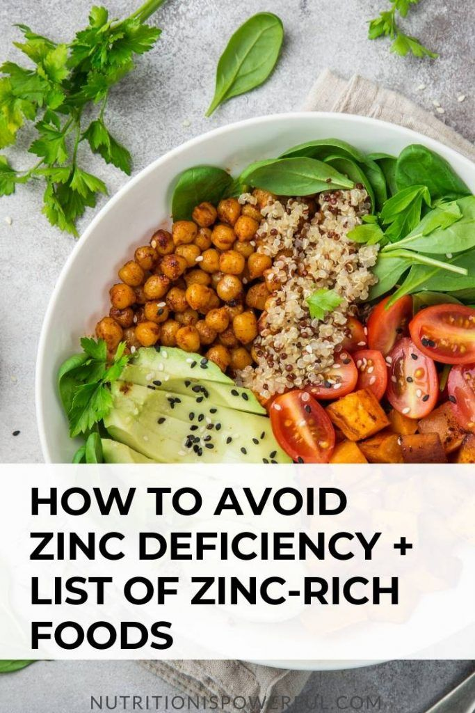 How To Avoid Zinc Deficiency List Of Zinc Rich Foods In 2020 Zinc Rich Foods Foods High In Zinc Food