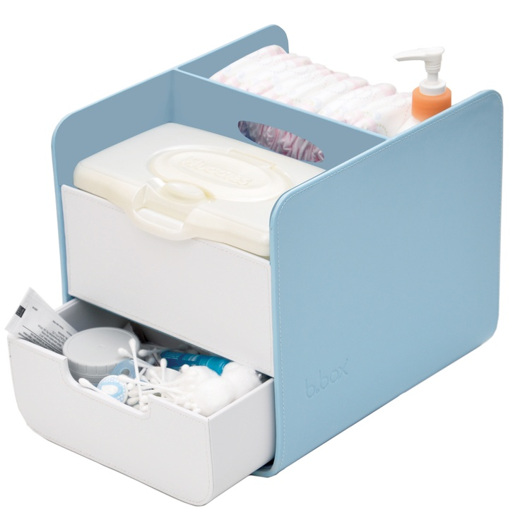 This light and portable change station ensures you have everything you need for nappy changing wherever you are around the home.