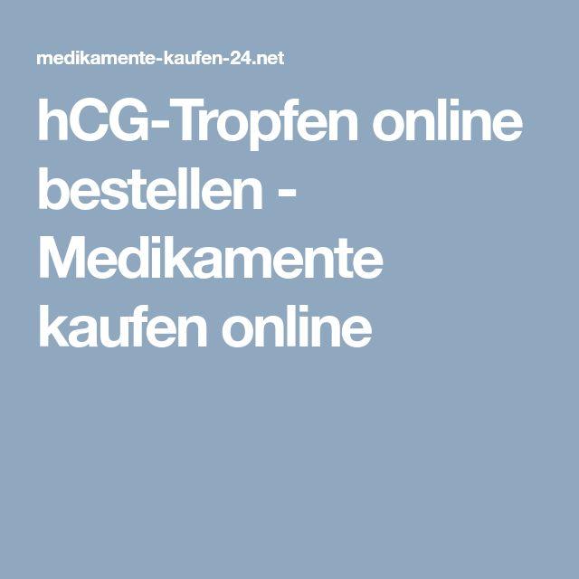 hCG-Tropfen online bestellen - Medikamente kaufen online