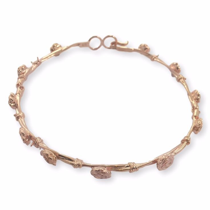 DANIELLE ROSE THORN Choker - Rose Gold