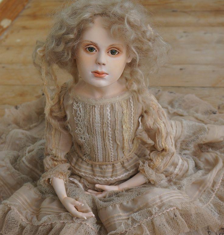 Кукла Ксения by artdollcom on Etsy