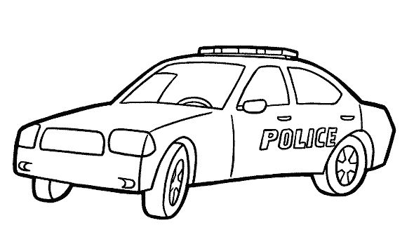 Police Cars Coloring Pages Coloring Pages For Boys Race Car Coloring Pages