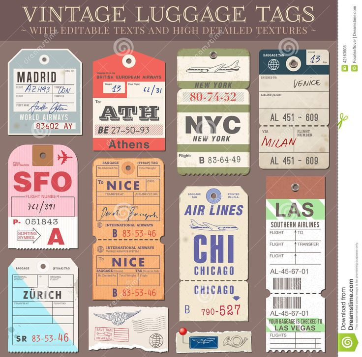 Elegant Vector Luggage Tags   Download From Over 46 Million High Quality Stock  Photos, Images,
