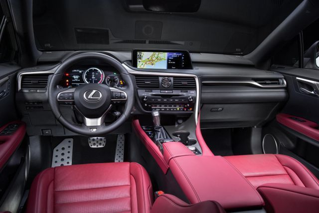 2019 Lexus RX 350 Interior Concept Cars Group Pins
