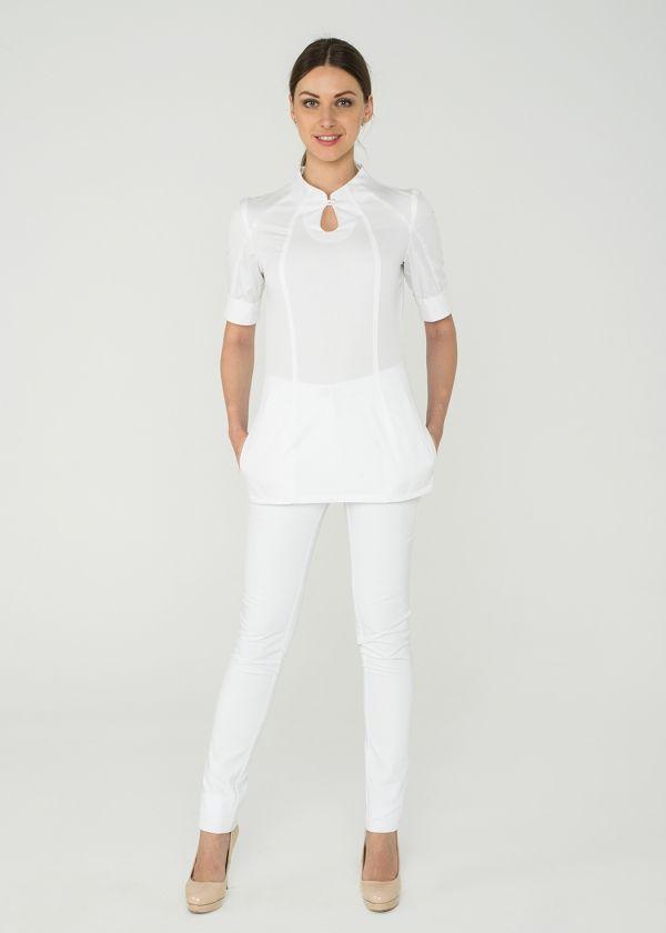 Блуза 1.03/ Дизайнерская медицинская одежда www.lechikrasivo.ru #medicine