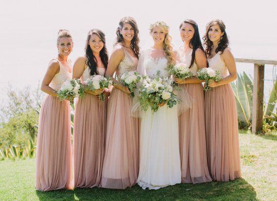 Elodie Skirt Long Tulle Skirt Bridesmaid Wedding Bridal