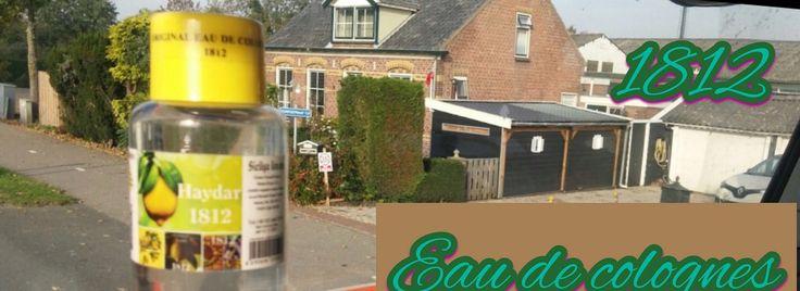 International cologne company 1812 haydar eau de cologne