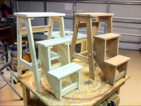 Folding Step Stool Youtube Diy Proyectos Pinterest
