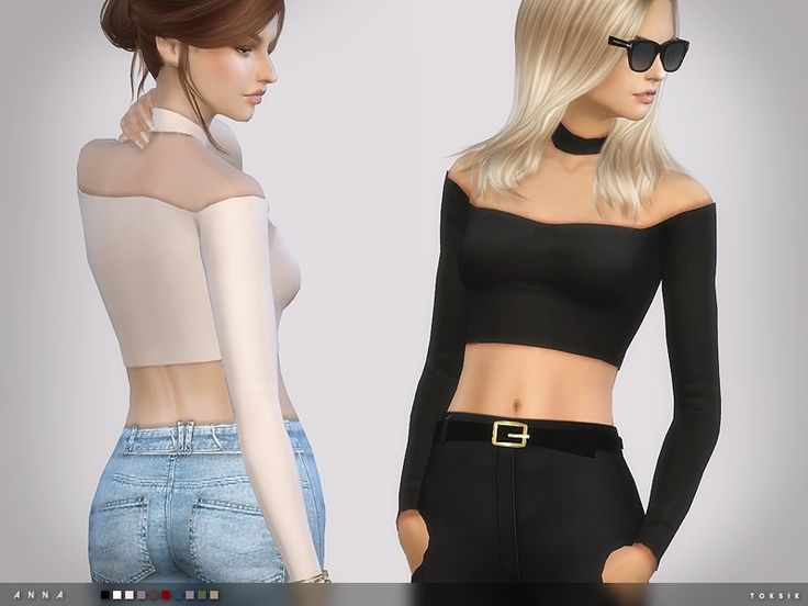 - 10 colours Found in TSR Category 'Sims 4 Female Everyday ...