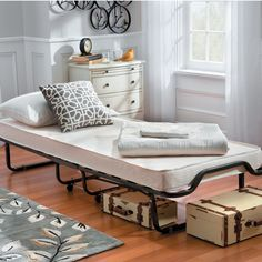 Luxor Folding Roll Away Bed with Memory Foam