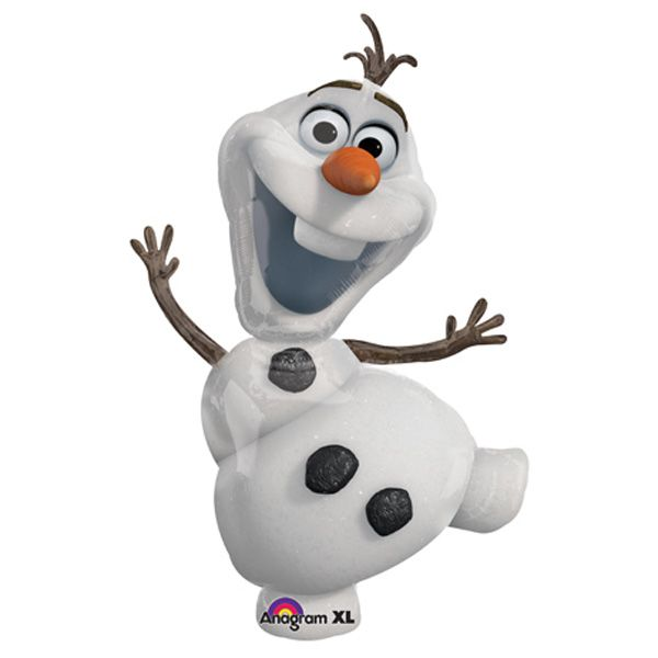 Disney Birthday Frozen cakes | Disney Frozen Olaf SuperShape Foil Balloon, FREE shipping offer, 50% ...