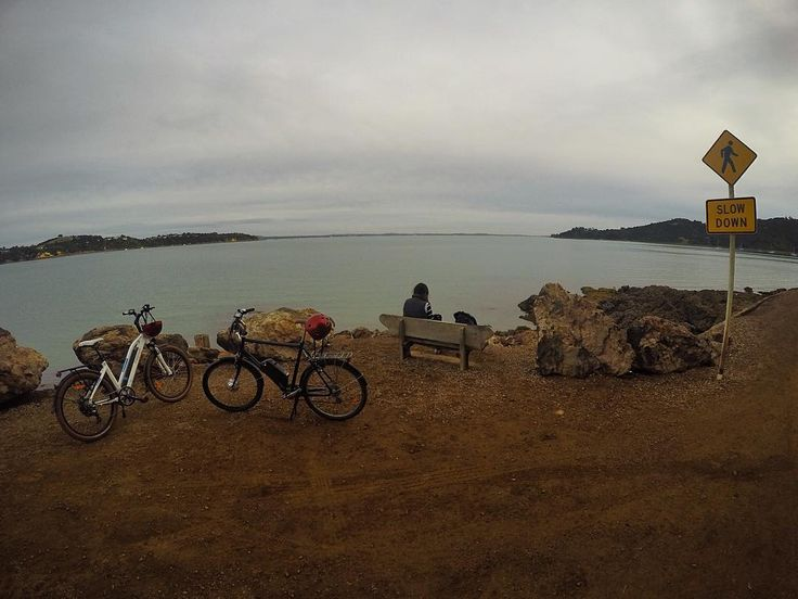 Instagram picutre by @coach.callum: Cruised round Waiheke today and sipped on as much wine as possible  @l.auren1987 #DrunkStop #Waiheke #Island #GoPro #GoProAnz #EBike - Shop E-Bikes at ElectricBikeCity.com (Use coupon PINTEREST for 10% off!)