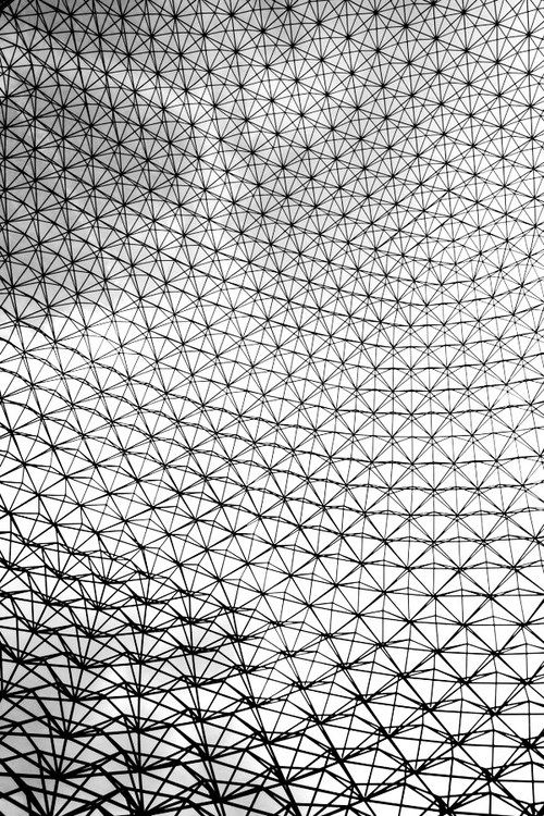 richard buckminster fuller. the geodesic dome. montreal, canada.