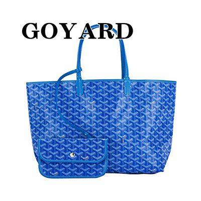 ゴヤールスーパーコピーバッグ トートバッグ メンズ レディース ブルー BLUE サンルイPM geya2208
