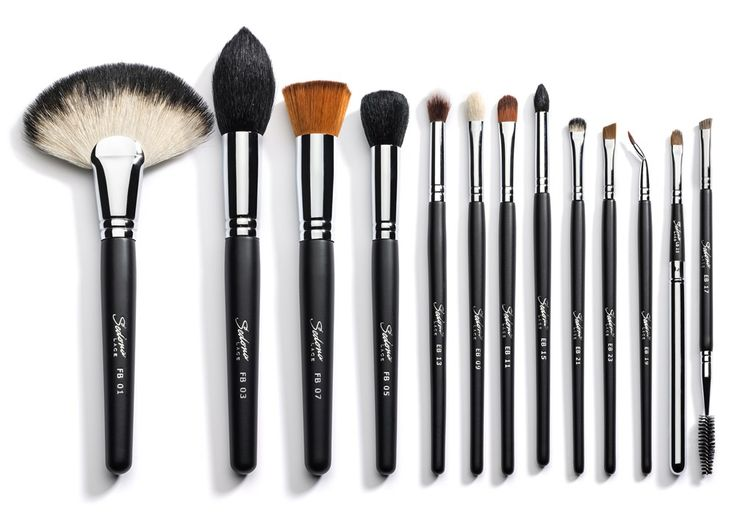 Vortex Professional Makeup Brushes by Sedona Lace // want this brush set.