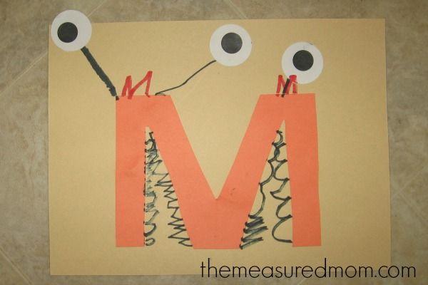 Letter M for monster craft