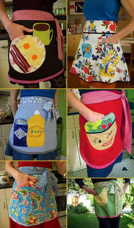 adorable handmade aprons!