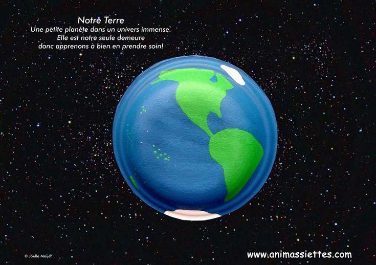 Un superbe projet pour sensibiliser les enfants sur la fragilité de notre Terre!