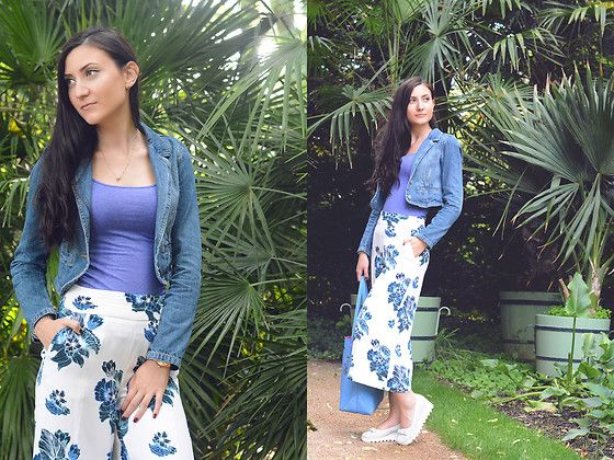NEW Look is up guys. Visit my blog for more inspiration: http://cashmere-stories.com/2016/07/palm-trees-culottes/
