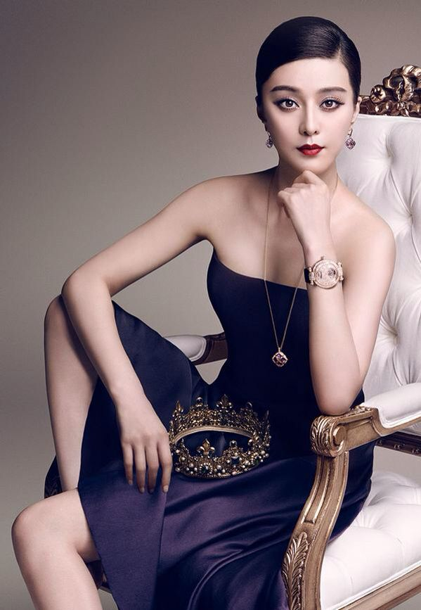 Fan Bingbing by Luigi Murenu for Chopard Imperiale F/W 14.15