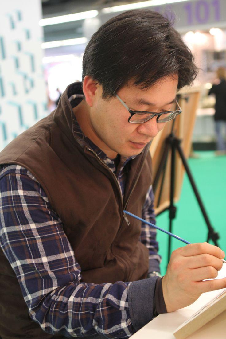 Shin Jong Sik - wonderful watercolorist