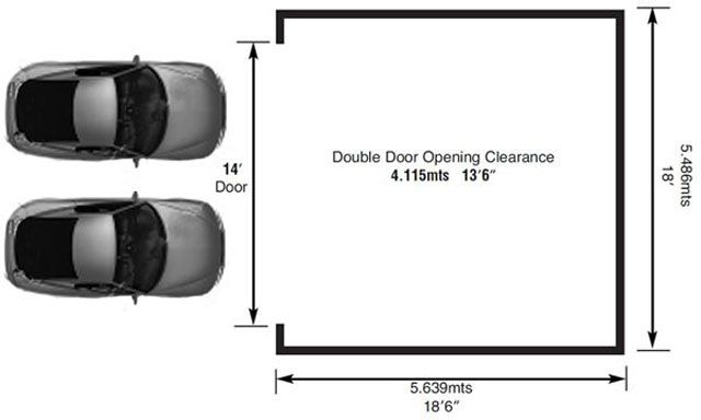 Standard Garage Door Size Lighthouse Doors Sizes Single