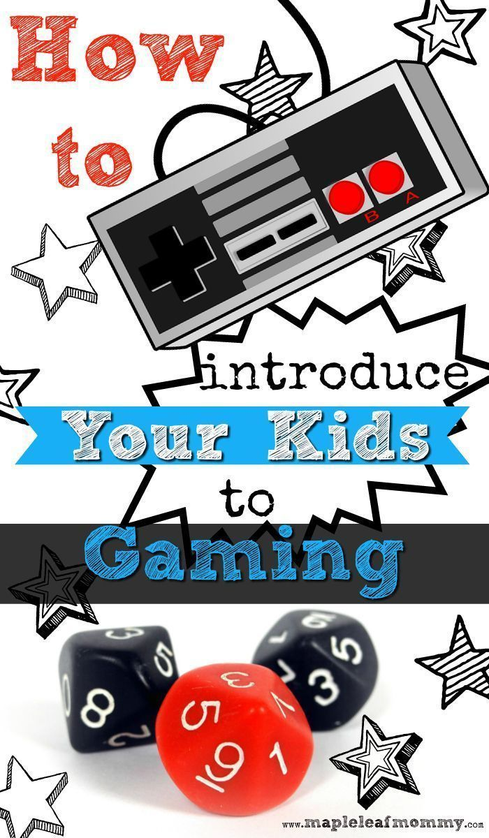 Are you a parent and a gamer? Whether it's video games, a board game, or role playing, it's nice to share what you love with your kids. Here are a few ideas for parents.