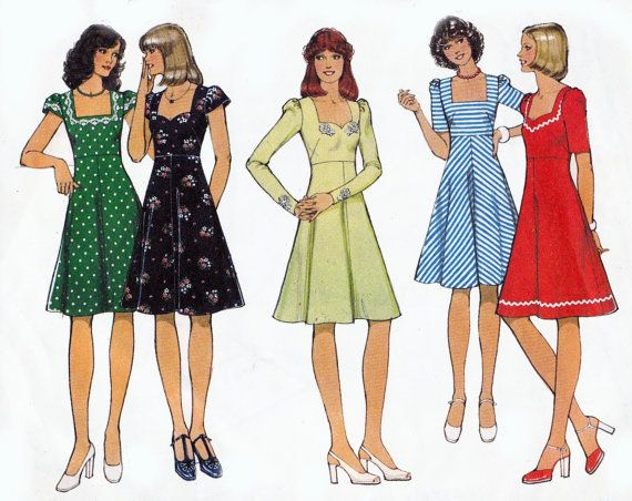 1970s Vintage Pattern Style 1006 High by allthepreciousthings, $9.00