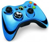 It is amazing how much better I can play when holding this Blue Xbox 360 controller
