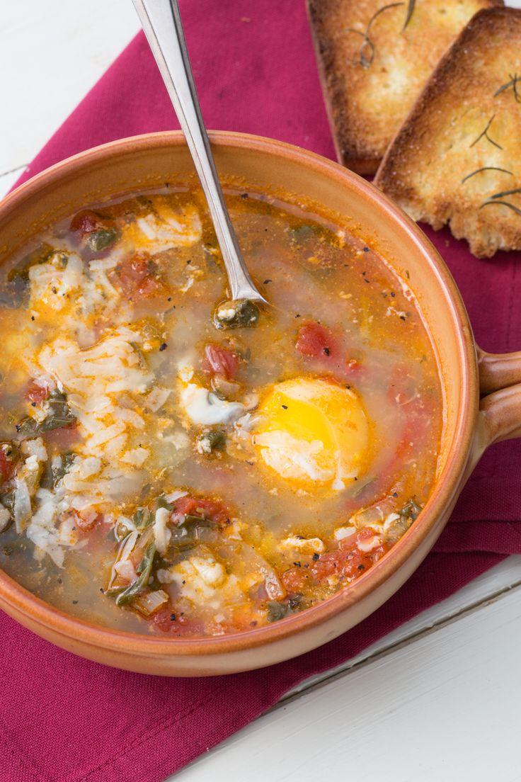 Acquacotta: una gustosa ricetta della tradizione toscana, semplice e genuina. [Acquacotta soup from Tuscany]