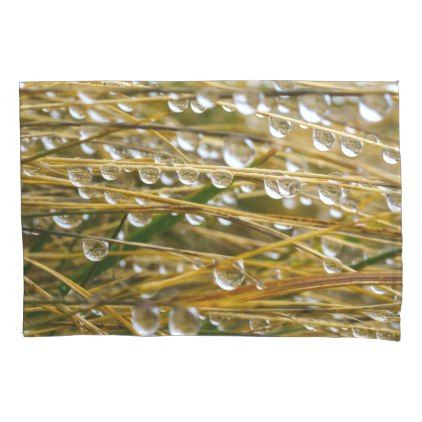 #Bushes near the water pillow case - #Pillowcases #Pillowcase #Home #Bed #Bedding #Living