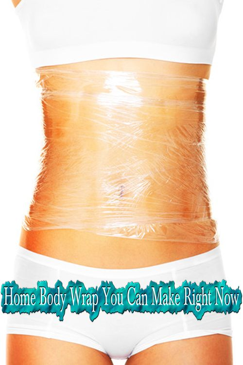 Home Body Wrap You Can Make Right Now. Definitely going to try this!